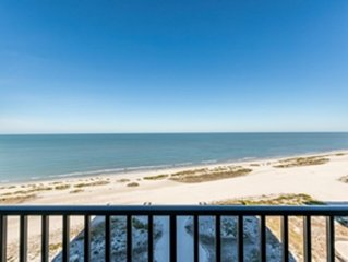 Sand Key - Clearwater Beach  Condo - Gulf front- Beach with Spectacular Views