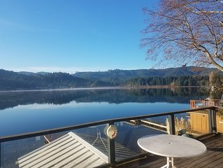 Updated Summit Lake front cabin  Boating skiing, water sports, Fishing, Hiking