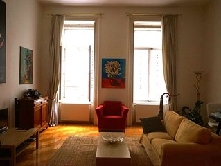 Spacious Beautiful Apartment in the Best Budapest Location