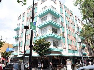 Comodo y atractivo apartamento en el centro CDMX