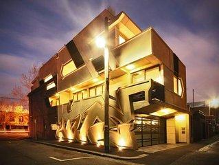 The Hive Graffiti Apartments