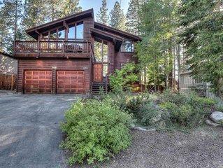 Spacious Dollar Point House w/ BBQ Balcony, Smart TV, 20 mins to Alpine Meadows