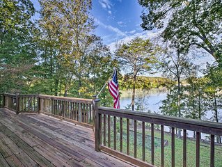 NEW! Lakefront Dayton Home w/ Great Views & Dock!