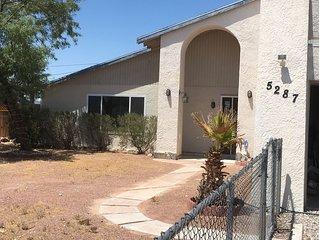 Hidden away Paradise in Golden Shores Topock Arizona $1500 a month .