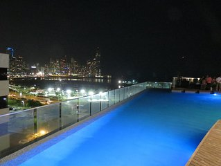 Exclusive Design apartment in Panama City. 135 sqm, 46th floor, modern building