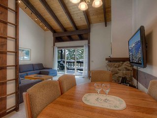 Updated Incline Condo w/BBQ, Deck, Fireplace, Summer Pool and Tennis (TCC0447)