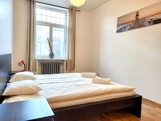 Lacplesa Сenter 2-bedroom apartments