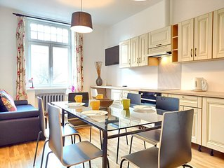 Brivibas City-Center 2-bedroom apartment
