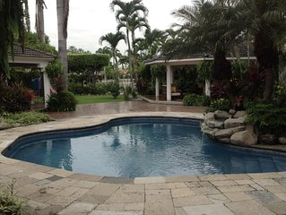 Suite, Tropical Garden, Lake and Pool