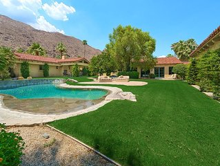 'Gillette Palm Springs Estate' 5BR/6BA, Private Luxury Compound, Sleeps 10