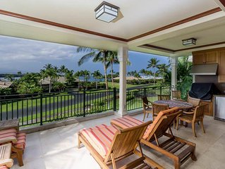 Enchanting condo w/ private BBQ lanai, golf nearby, private beach access- Waikol