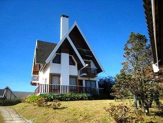 Casa em Campos do Jordao - Alto da Vila Inglesa - 5 quartos
