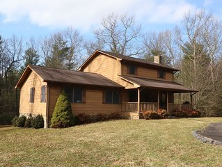 3 BR Glade Valley Home close to Golf Courses and Blue Ridge Parkway!
