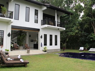(Madampe House) lake side villa with pool and private chef in hikkaduwa