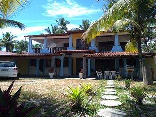Confortavel casa 4 quartos no litoral sul de Ilheus - 3 suites