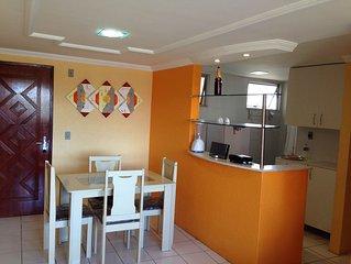 Apartamento por temporada em Fortaleza - Praia do Futuro - Wi-fi Grátis