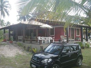 Casa no Paraiso em Frente ao Mar em Ilheus