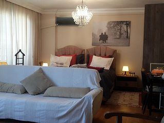 Suite room. In the elite district of Kadikoy.