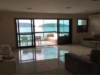 Apartamento de 250m2, 4 quartos, vista frente mar - Porto Real Resort