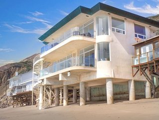 Malibu's Finest Oceanfront on Private Beach