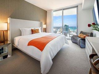 Luxurios One Bedroom Condo Beachfront Building