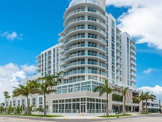 Brand new Boutique Apt - just steps from the beach