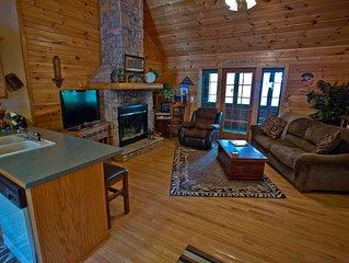Charming Log Cabin (Cabin Dreams)