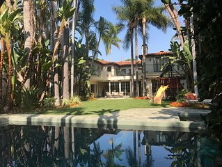 5 STAR Luxury Mansion & HOUSEKEEPING-  Safe Quiet Walk to Rodeo Dr.
