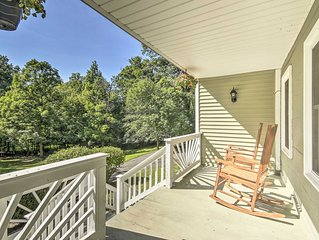 NEW! Harpers Ferry Home ~2 Mi to Shenandoah River!