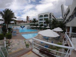 Apartamento com excelente localizacao a Beira mar, na praia de Ponta Negra
