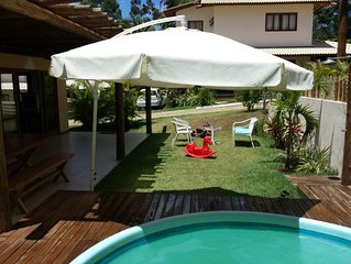 Praia do Forte - Casa 4/4 com piscina