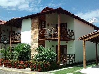 Casa mobiliada com 4 quartos CONDOMINIO FECHADO - Praia dos Carneiros