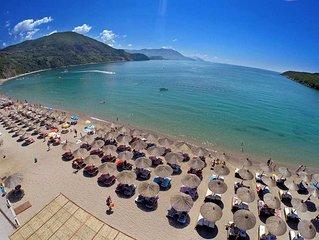 Exclusive 1 bedroom apartment, a short walk from Rafailovici sandy beach