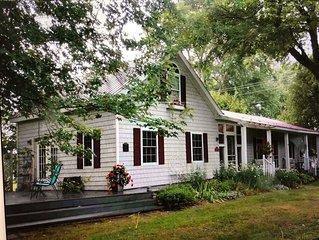 Two Dove Cottage, Village  of Lexington Michigan.