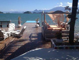 Maravilhosa Casa  Frente ao Mar de Angra Dos Reis.