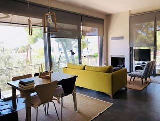 Modern - Elegant - Brand new house - 3 minute walking from Lagonissi beach