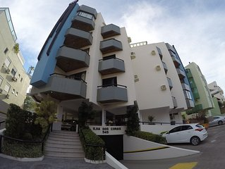 Apartamento 2 dormitórios 20m da praia