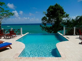 An Exquisite Luxury Villa Overlooking The Caribbean Sea