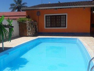 Casa de praia ,Condominio segurança 24h ,piscina,churrasqueira,varandas,