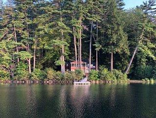 MAY26W - Vintage Lakefront Cottage on Lake Waukewan