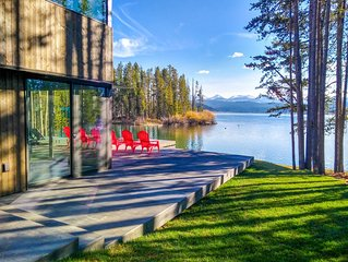 Modern cabin on Georgetown Lake with incredible views and private dock!