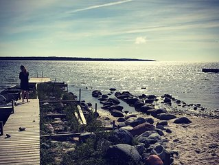 A seaside oasis on the northern tip of Gotland