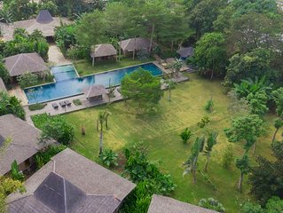 Serenity River Estate, 8 Bedroom Villa, feature pool and gardens, chef, Canggu