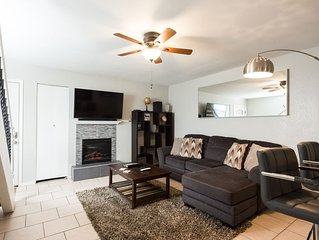 Quiet, modern, walkable to local amenities, 2 mi to DT. Pets ok! Big shared yard