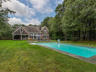 New Listing: 4,000' Classic Cedar Home, Airy & Open Escape w/ Outdoor Oasis Surr