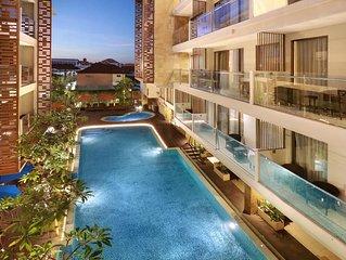 Modern Beautiful Hotel by Aston 12 Adult Kuta Bali