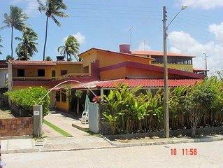 Casa com 8 quartos, piscina em Porto de Galinhas - 2 suites