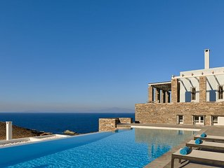 Blue Shark-Comfortable living with infinity pool and soothing sunset views