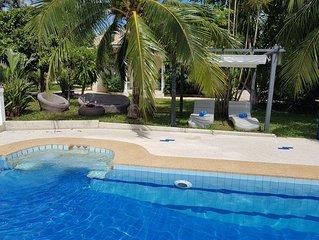 Peaceful Pool Villa, Tropical Garden