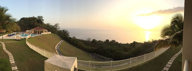 Panoramic view from the Villa's Balcony